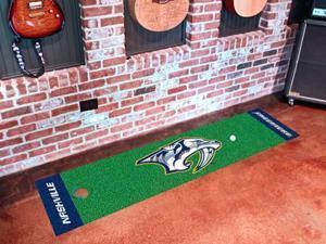 Nashville Predators Putting Green Mat - OEM