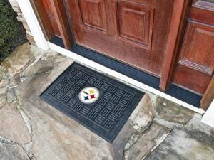 Pittsburgh Steelers Medallion Door Mat - OEM