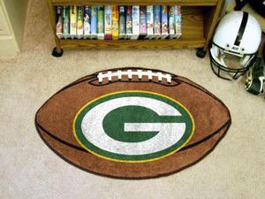 Green Bay Packers Football Rug
