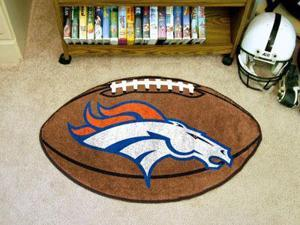 Denver Broncos Football Rug - OEM