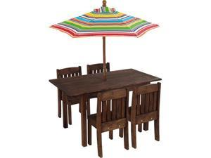 KidKraft Outdoor Table & Stacking Chair Set