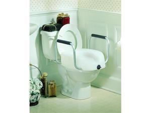 Clamp-On Raised Toilet Seat - OEM
