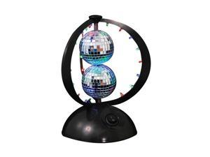 LumiSource LS-DISCOPLANET Disco Planet Light w/ 2 Disco Balls - OEM
