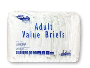 Invacare® Value Series Adult Briefs - OEM