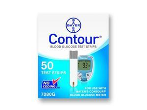 Bayer's Contour Blood Glucose Test Strips - OEM