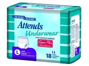 Attends Underwear Super Plus Absorbency - OEM