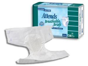 Attends® Extra Absorbent Breathable Briefs - OEM