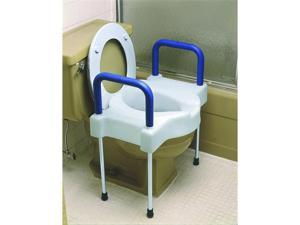 Extra Wide Tall-Ette® Elevated Toilet Seat with Legs - OEM