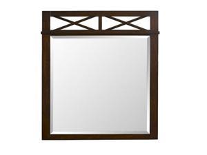 "Landon ""Antique Walnut"" Mirror - OEM"