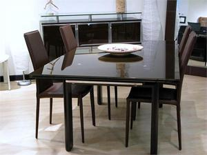 London Dining Table (Brown) - OEM