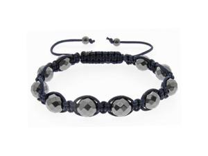 Navy Blue Beads on Navy String