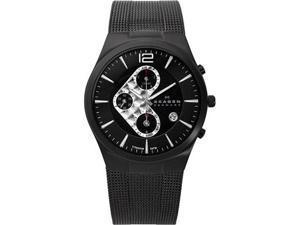 Skagen Titanium Black Dial Men's Watch #906XLTBB