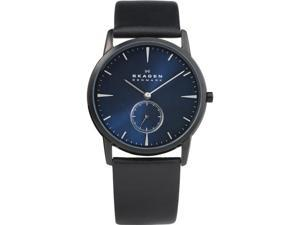 Skagen Steel Collection Metallic Blue Dial Men's Watch #958XLBLN