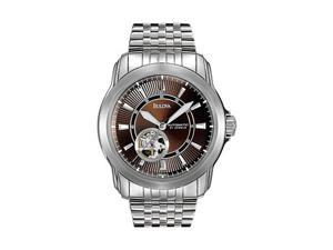 Bulova Mens Automatic Self Winding Stainless Steel