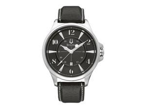 Bulova Strap Collection Adventurer Black Dial Men's watch #96B135
