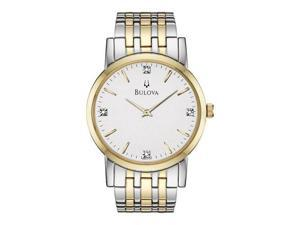Bulova Casual Diamonds Mens Watch 98D114