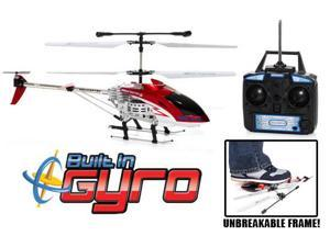 3.5 Ch RC Hercules Helicopter. The Helicopter's body can take up to 200 pounds of force! (Colors Vary)
