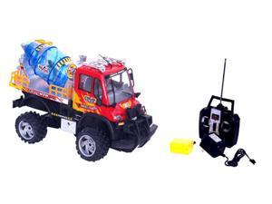 Cement Truck RTR Electric RC Construction Vehicle w MP3 Player
