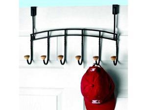 Cambridge Over-Door Rack - 6 hook - by Spectrum