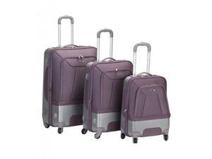 Three Piece Hybrid EVA-ABS Luggage Set - by Fox Luggage