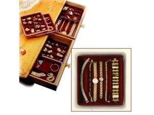 Velvet Jewelry Tray - Stacking-Watches & Bracelets