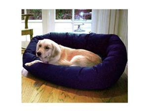 "Pet Bagel Bed Large 40"" Bagel Bed - Blue - by Majestic Pet"