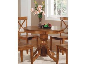 Round Pedestal Dining Table - Table Only - by Home Styles