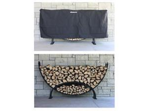 Woodhaven Crescent Firewood Rack - by Alexander