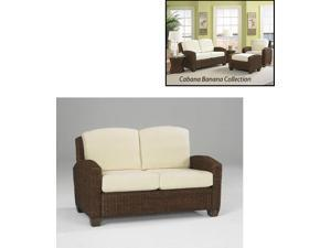 Cabana Banana Weave Love Seat - by Home Styles
