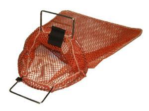 Galvanized Wire Handle Mesh Bags with D-Ring- Medium