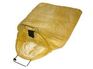 Galvanized Wire Handle Mesh Bags with D-Ring- Large
