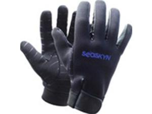 1mm SEASOFT SEASKYN_ Rubberized Gloves - XX-Small