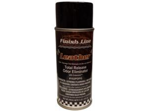 Finish Line Total Release Odor Eliminator with Ordenone - Leather Scent For Cars or Home