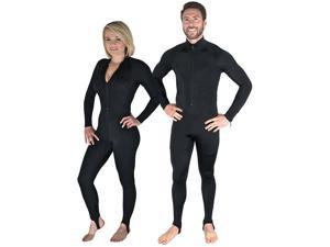 Storm Black Lycra Dive Skin-XX-Large for Scuba Diving Snorkeling and Water Sport
