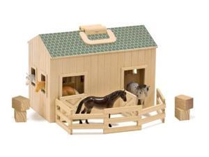 Melissa & Doug Fold and Go Mini Stable