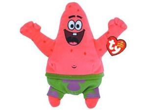 Ty Beanie Babies Patrick Star Best Day Ever