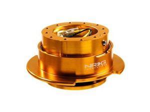 NRG Quick Release Gen 2.5 - Srk-250RG (ROOSE GOLD Body w/ ROSE GOLD Ring) Steering Wheel Quick Release UnitNRG Innovations ...
