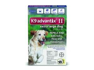 K9 Advantix II Dogs Over 55 lb 6 Pack (6 Month Supply)