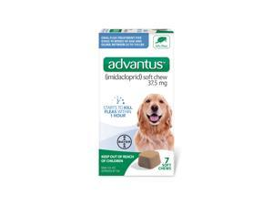 Advantus Flea Control for Large Dogs 23-110lbs by Bayer 7 Soft Chews