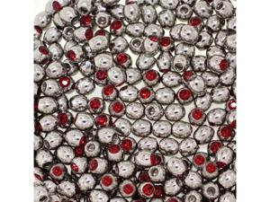 Red - 14G 3mm Gem Replacement Balls Body Jewelry