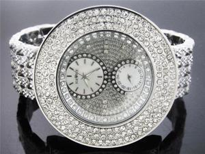 Men's Large Ice Ice by Icetime 60MM 10 Diamonds watch