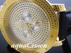 New Techno Master 12 Diamond Watch TM-2132 YELLOW GOLD