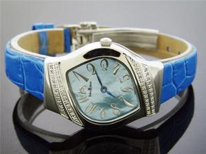 Ladies Techno Master 0.40CT Large Diamond Watch TM-2094