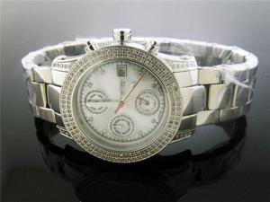 New Ladies Swiss Master by KM 1.25Ct Diamond 34mm Watch