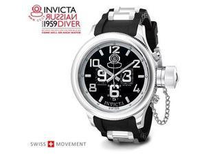 Invicta Russian Diver Chronograph Black Rubber 4578