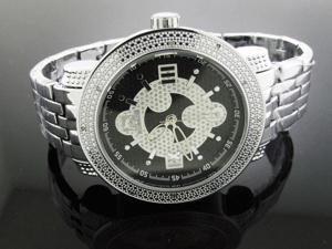New Techno Master 12 Diamond Watch TM-2132 SS Band
