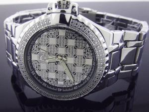 New Techno Master 12 Diamond TM-2124 SS Band 45MM Watch