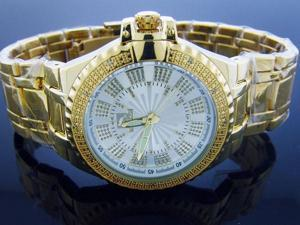 Techno Master 12 Diamond TM-2132 Yellow Gold 47MM Watch