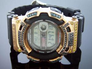 Men's Casio G Shock 4.00CT diamonds Watch G2900