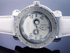 Men's King Master 50MM Round 12 Diamond watch